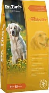 Dr. Tim's Metabolite weight management high-fiber dog food