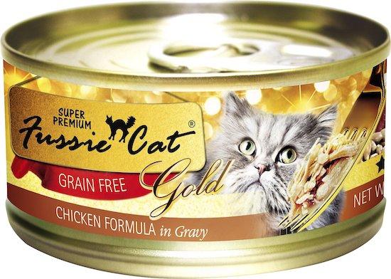 Fussie Cat cat food low in phosphorus
