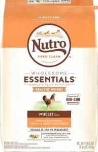 Nutro Wholesome Essentials high-fiber dog food