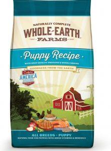 Whole Earth Farms puppy recipe