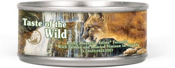 can of taste of the wild cat food