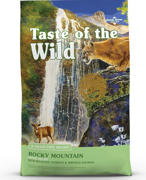 bag of Taste of the Wild dry food