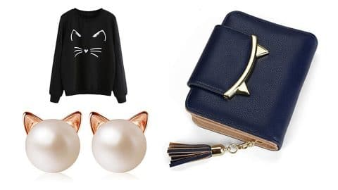 a selection of cat mom gifts