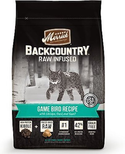 Backcountry game bird recipe cat food for weight gain