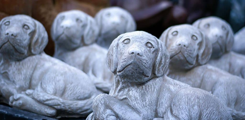 Dog Garden Statues The Cutest