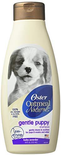 Oster Oatmeal Naturals puppy shampoo bottle