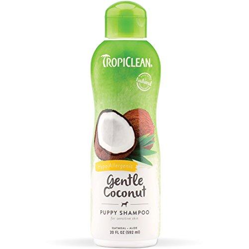 Tropiclean Gentle Coconut Puppy Shampoo bottle