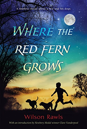 """""""Where the Red Fern Grows"""" book cover"""