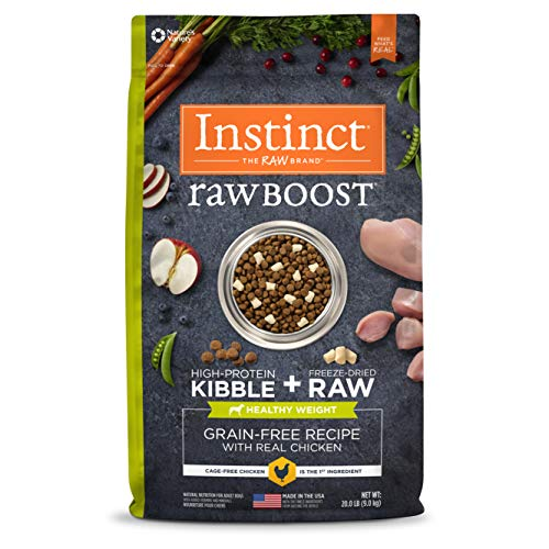 Nature's Variety Raw Boost dog food