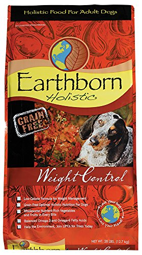 Earthborn Holistic high-fiber dog food