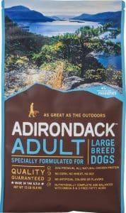 bag of Merrick Grain-Free large breed recipe