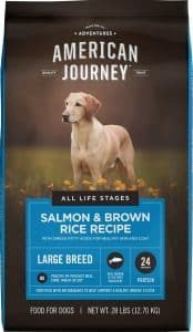 American Journey large-breed salmon and brown rice recipe