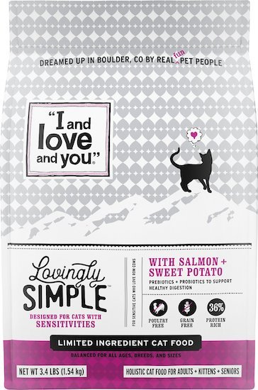 I and Love and You cat food