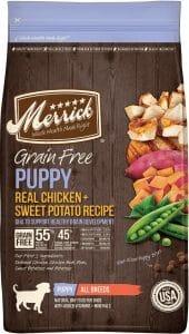 Merrick Grain-Free puppy food