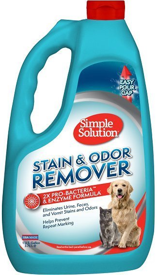 Simple Solution cat pee stain and odor remover