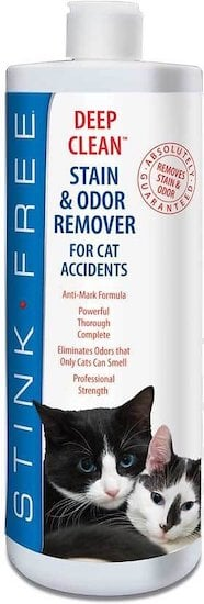 Stink Free cleaner to get rid of cat pee smell