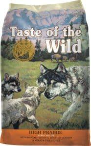 Taste of the Wild High Prairie puppy food
