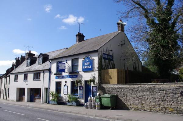 Dog friendly pub in Dorset, The Blue Raddle