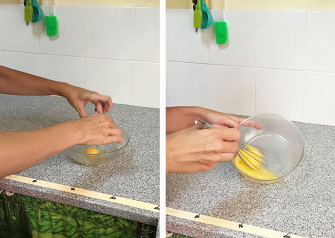 galletas de platano y miel para tu perro-huevo