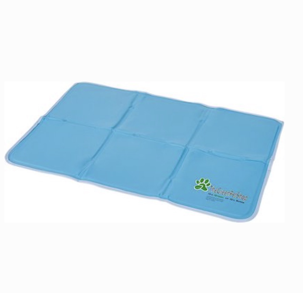 The Green Pet Shop blue cooling pad