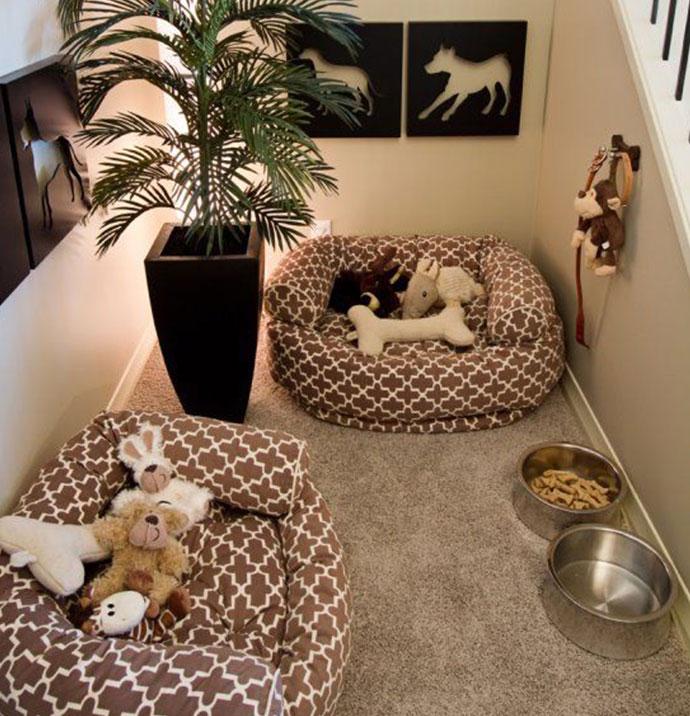 manualidades creativas para perros - un dormitorio para tu perro