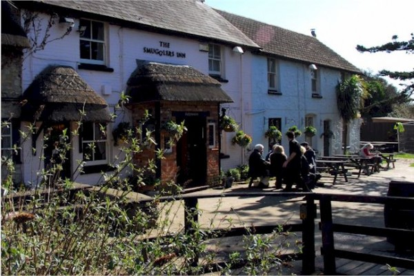 Dog Friendly pub in Dorset, The Smugglers Inn