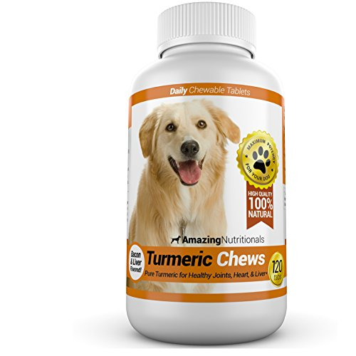 Amazing Nutritionals turmeric vitamin supplement for dogs