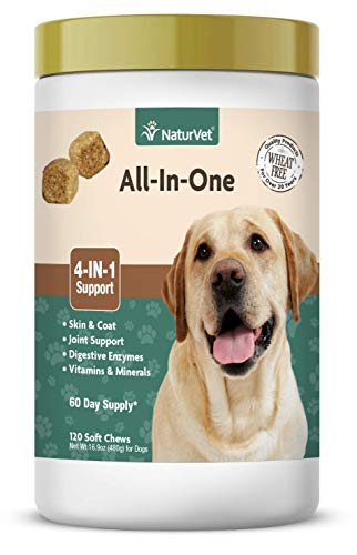 NaturVet All-in-One vitamin supplement for dogs