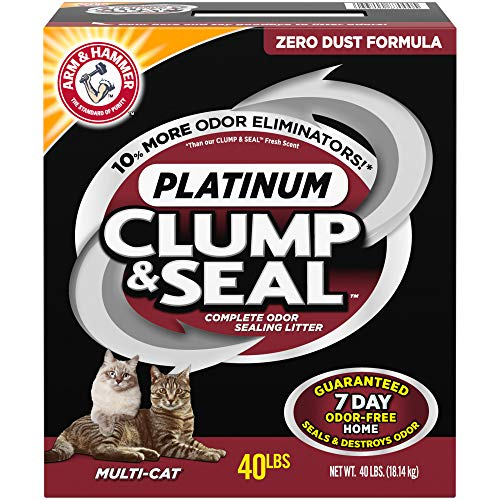 box of Arm and Hammer multi-cat litter