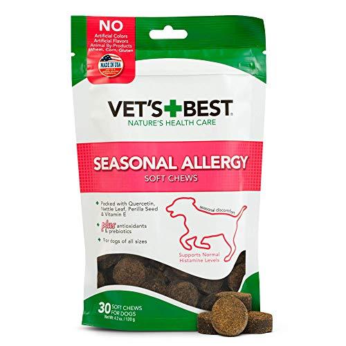 Vet's Best seasonal allergy supplements for dogs