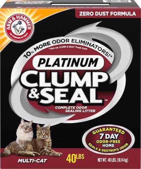Arm & Hammer Platinum Clump & Seal