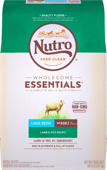 Nutro dog food for large breeds