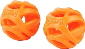 Chuckit Breathe Right two-pack fetch balls