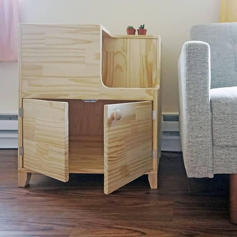 17 Gorgeous Cat Litter Box Furniture