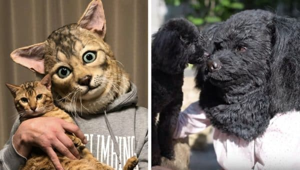 Hyperrealistic Masks Let You Look Exactly Like Your Pet