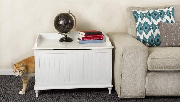 17 Gorgeous Cat Litter Box Furniture Options