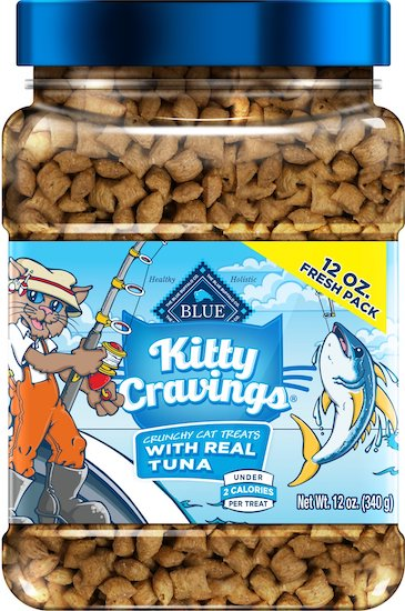 Blue Buffalo crunchy tuna cat treats