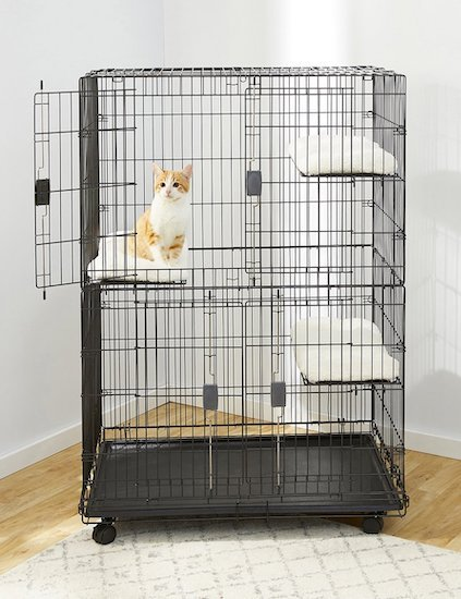 Cat Cage The Best Cat Cages To Keep Kitties Safe