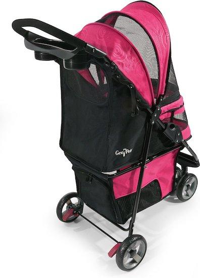 pink Gen7Pets stroller