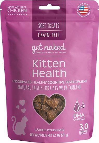 Get Naked kitten treats