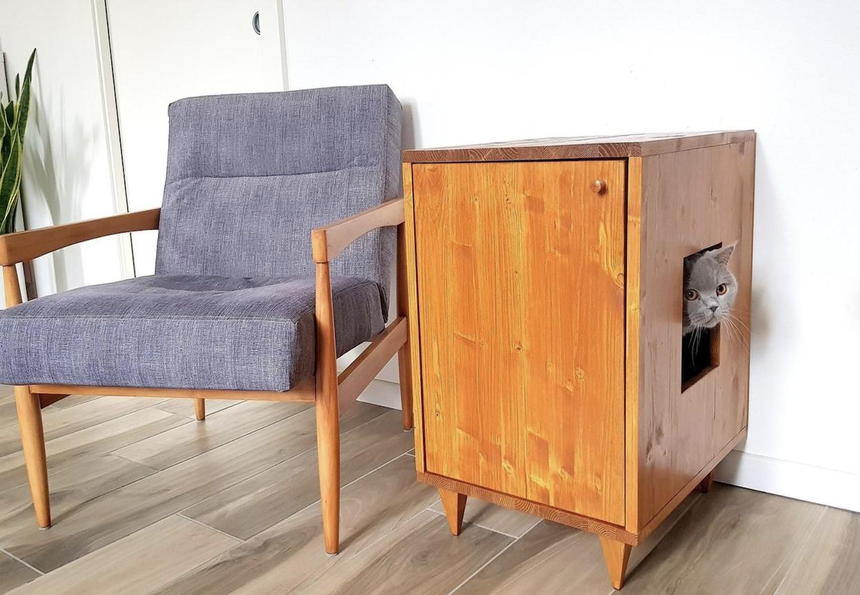 Cat Litter Box Furniture 17 Gorgeous Cat Litter Box Enclosures