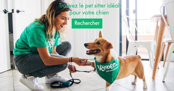 Rover votre dog sitter idéal