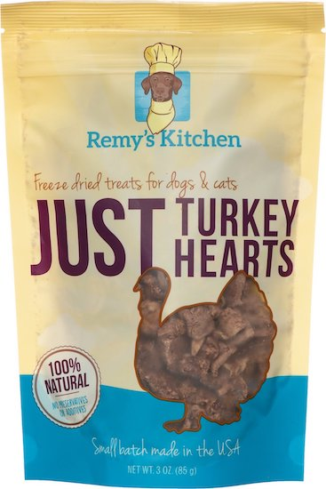 bag of Remy's Kitchen turkey hearts