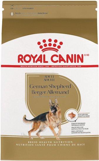 Royal Canin best food for German shepherds