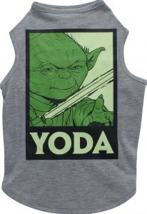 Chewy Fetch for Pets Star Wars Yoda tank summer dog top