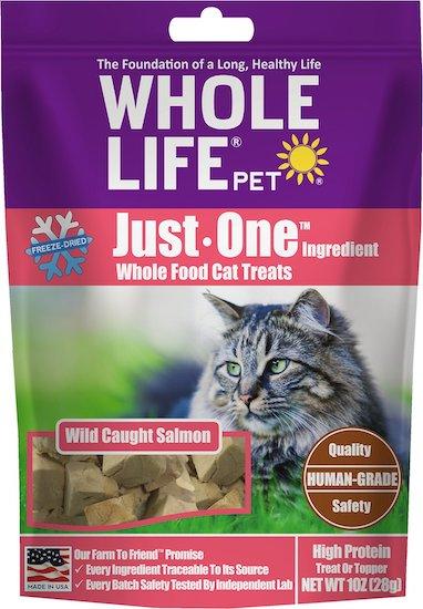 bag of Whole Life salmon bites