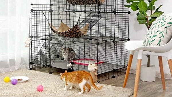 10 Best Cat Cages (For When You've Got to Get a Full Night's Sleep)