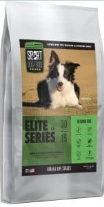 bag of Sport Dog Elite Series herding dog food