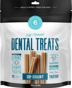 Bones & Chews All-Natural Dental Chew Sticks