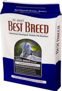 Dr. Gary's best breed holistic large breed food for boxers